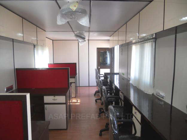 Office Container Manufacturer in delhi gurgaon