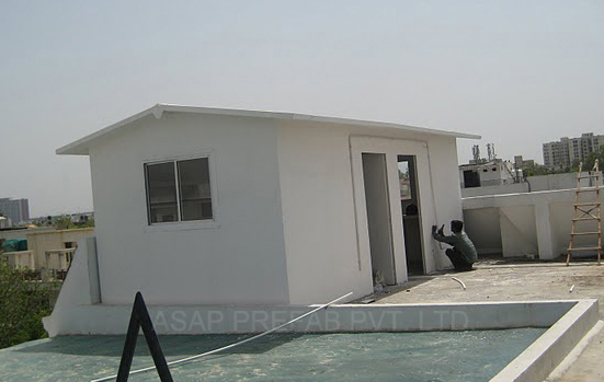 Portable School Amp Collage Extension Prefabricated Prefab