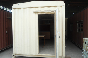 20 ft Furnished Container Office (Exterior)