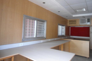 20 ft Furnished Container Office (Interior)