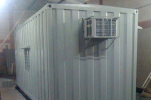 20 ft Container Site Office (Exterior)
