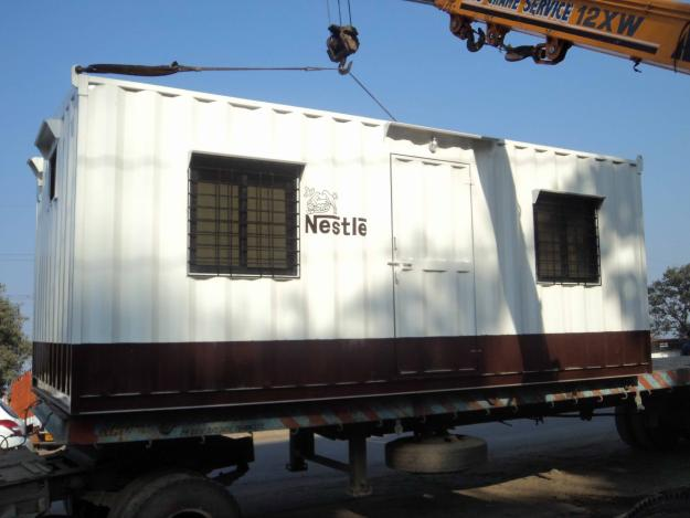 20 ft Furnished Container Site Office (Exterior)