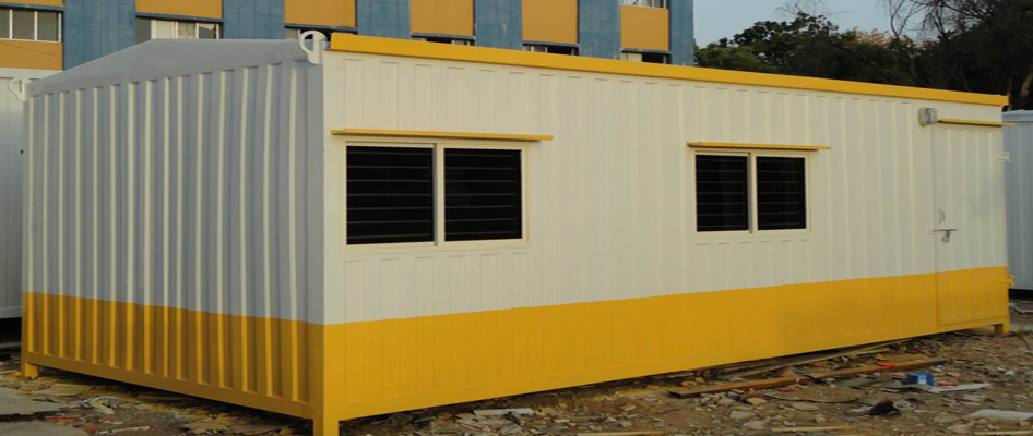30 ft Container Site Office (Exterior)