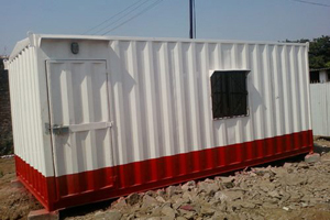 Site Manager Container Office (Exterior)