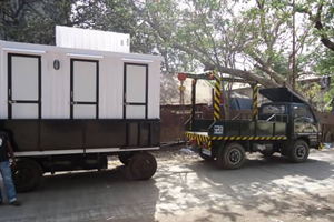 mobile toilet Neemrana