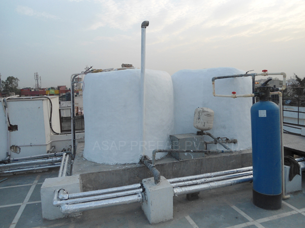 Insulated Water Tank : Hot water tank insulation service provider in delhi